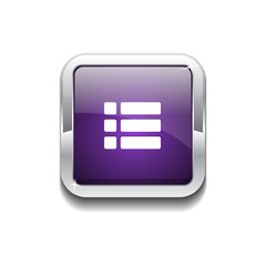 Options Rounded Corner Vector Purple Web Icon Button