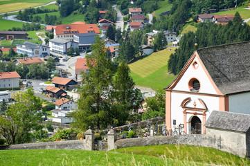 Steinach am Brenner mit Kirche