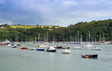 Dartmouth Estuary, Devon, England