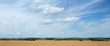 canvas print picture - rural panoramic landscape in Southern Germany