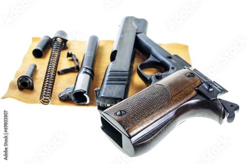 Seperate parts handgun - 69803807