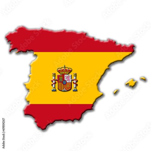 canvas print picture Spanien