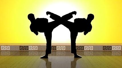 Black Karate MIRROR lll