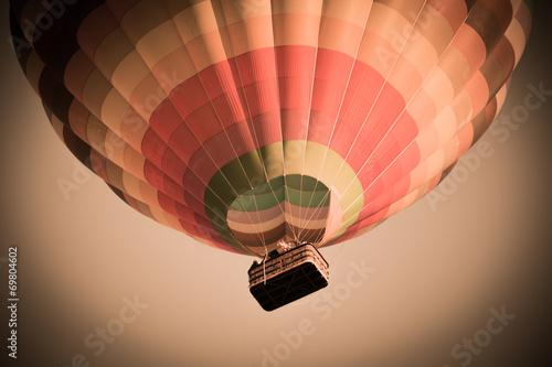 Fotobehang Ballon Freiheit Ballonfahrt