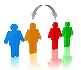 Partnertausch oder Mitarbeiterwechsel