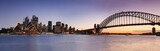 Fototapety Sydney CBD from Kirribilli Set Panor