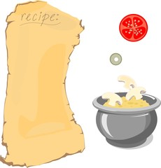 Recipe and ingredients