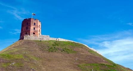 Gediminas tower in Vilnius, Lithuania