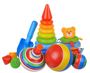 Baby toys composition
