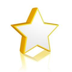 goldener/silberner Stern