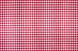 Rot-weiß kariertes Tischtuch - 69808450