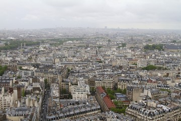 Urban view - fromEiffel Tower Paris