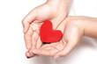 Obrazy na płótnie, fototapety, zdjęcia, fotoobrazy drukowane : Red heart in hands