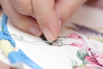 Cross-Stitch (Embroidery)