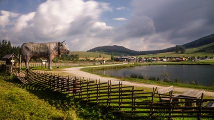 Teichalmsee und der ALMO Teichalm Steiermark Österreich
