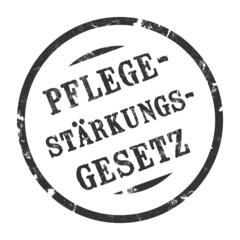 sk182 - StempelGrafik Rund - Pflegestärkungsgesetz - g1612