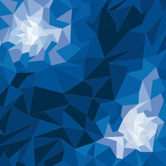 Vector geometric shape, background
