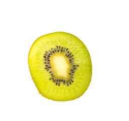 Kiwi isolated on white