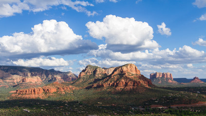 Landscape of the valley near Sedona