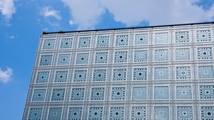 L'Institut du Monde Arabe. Paris. France.