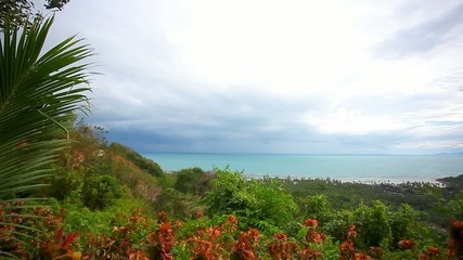 View from view point of Samui island