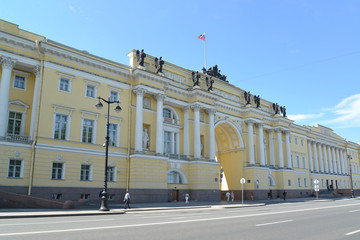 Building of the Constitutional court of the Russian Federation,