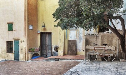 Scorcio di Varigotti - Piazzetta