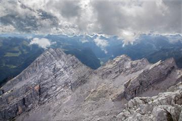 Alps - outlook from Watzmann peak