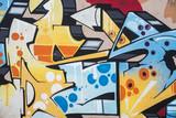 Murales vivacemente colorato - 69815236