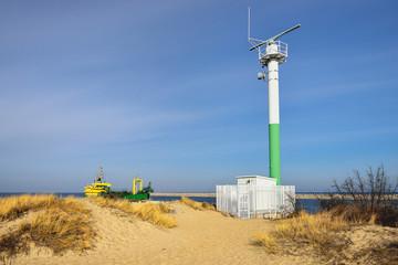 Morze, radar portowy do nawigacji