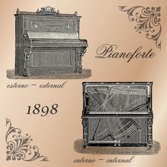 Pianoforte 1898 - mod.2 - Italy