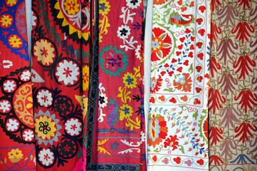 Multicolored Fabrics in the Market