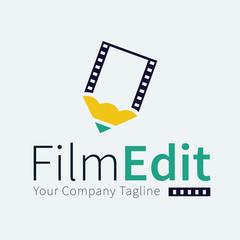 Film Edit Logo Template