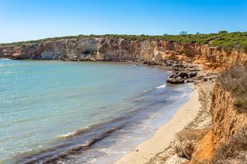 Sardegna, Spiaggia di Seu, vicino a Oristano