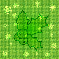 Vector Christmas Holly