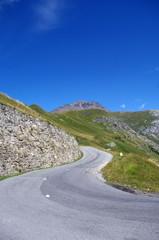 route du col de l'iseran-savoie