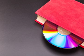 Disk in book