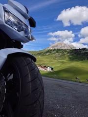 Motorradpause