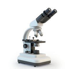 Illustration of microscope