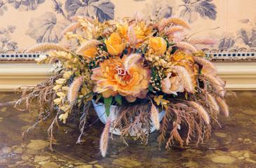 Art deco flower decoration from palace Saint Anton