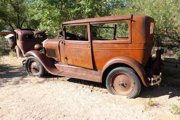 Desert Rusted Model A
