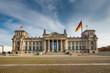 Leinwanddruck Bild - Reichstag in Berlin