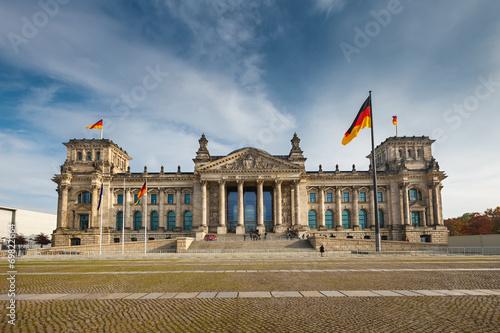 Leinwanddruck Bild Reichstag in Berlin