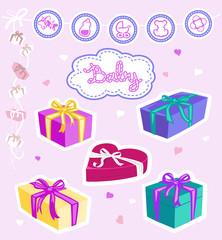 Geschenke+ Symbole, Baby/ Kleinkind