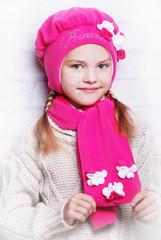 красивая детская шапочка