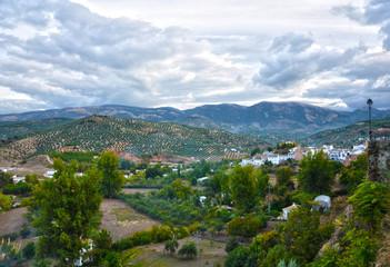 Priego de Córdoba, paisaje desde el Balcón del Adarve