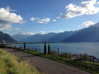 Autoroute A9 sur Montreux