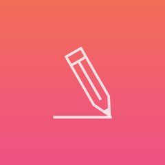 Write - Finely crafted line icons