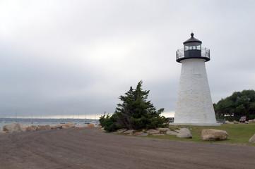Ned's Point Lighthouse Mattapoisett MA, USA