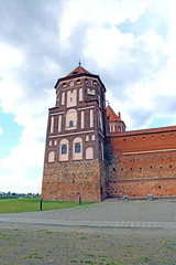 Ancient Mir Castle Complex in Belarus